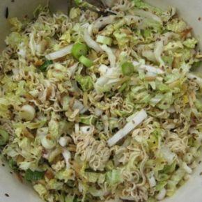 Chinesischer Nudelsalat