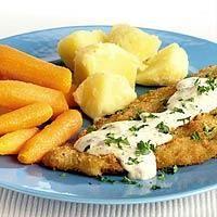 #Recept: Schol met mosterdsaus worteltjes en aardappelen http://ift.tt/2f6BMTq #Hoofdgerechten