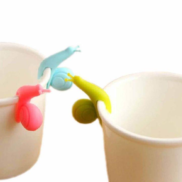 Держатель чайного пакетика в виде улитки Купить: http://ali.pub/kze3f
