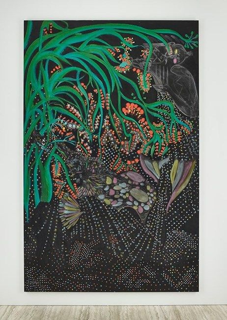 Midnight Cocktail by Chris Ofili at David Zwirner | Ocula