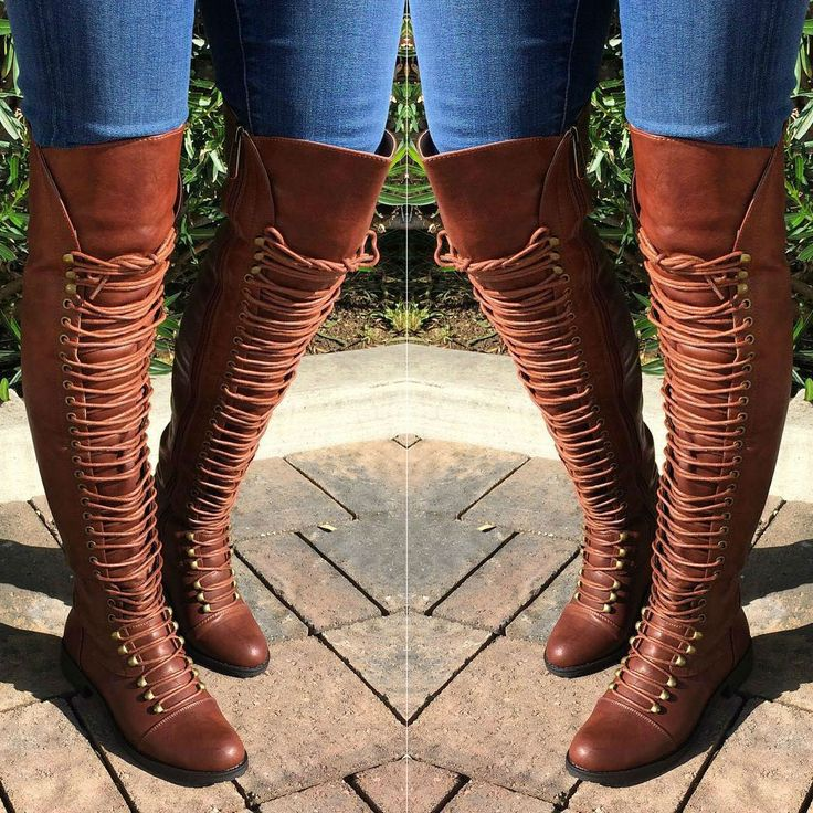 Thigh High Combat Boots Travis 05