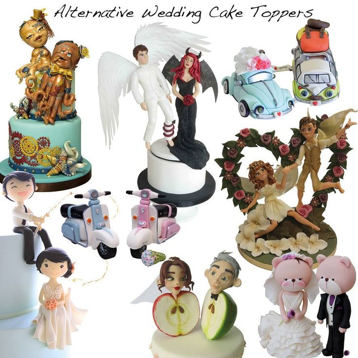 alternative wedding cake toppers uk 17 best ideas about wedding cake alternatives on 10697