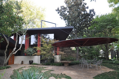 Bruce Goff Ledbetter House Patio Norman Oklahoma Norman Oklahoma Boomersooner Pinterest Norman Oklahoma And Patio