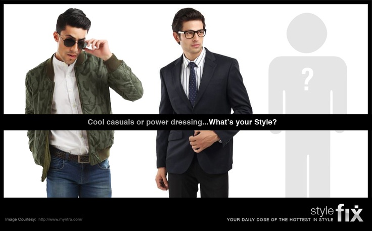 Style is not just for parties and night-outs, it's a way of life! This week, flaunt a new look at office. Cool casuals or power dressing ... what's your style?