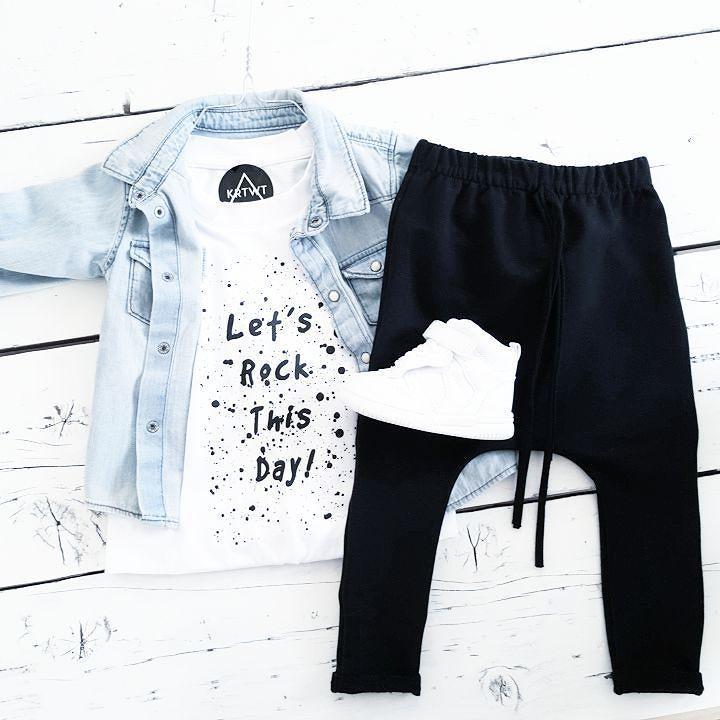 Good Night  #krijtwit #kidsclothing #kids #blackandwhite #monochrome #spring #newcollection #girlclothing #boysclothing #KRTWT #krtwtcollection #krtwtclothing by krijtwit