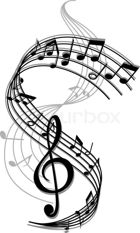 716 best music images on pinterest song notes music notes and rh pinterest com Music Notes Thank You Wine