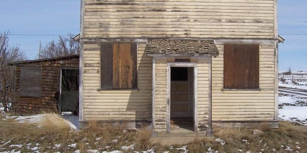 LOOK: Spooky And Beautiful Ghost Towns Of Alberta