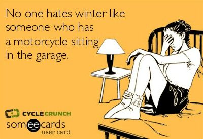 PMS parked motorcycle syndrome