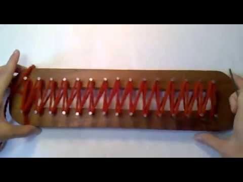 Video Tutorial Telar Maya Punto Ingles - La Hilandera