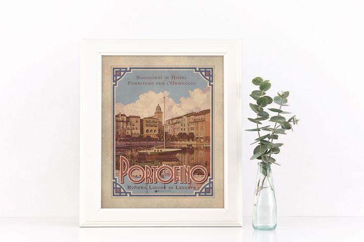 #Portofino #genova #liguria #vintage #targhevintage #vimages #stampevintage…