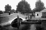 Photo of The Bridge, Wicksteed Park c1955, Kettering