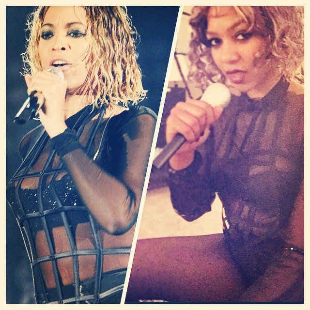 """Pin for Later: 40+ Ways to Channel Beyoncé This Halloween """"Drunk in Love"""" Grammys Beyoncé"""