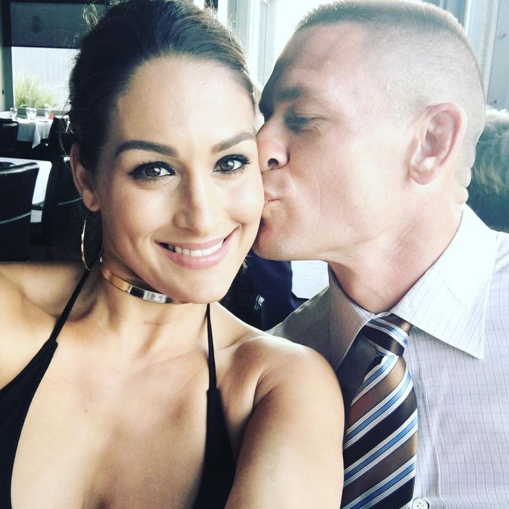 47 Photos of John Cena and Nikki Bella's Over-the-Top Romance