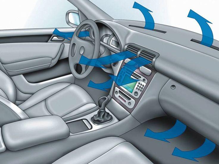Не включайте кондиционер сразу же после заводки машины