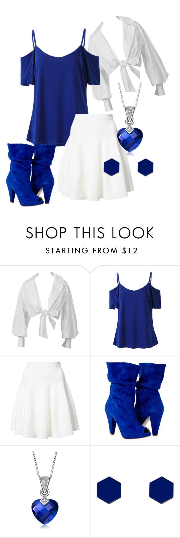 """""""The Day of Blue and White"""" by arbernava on Polyvore featuring Montana, Carven, Collette Z and Wolf & Moon"""