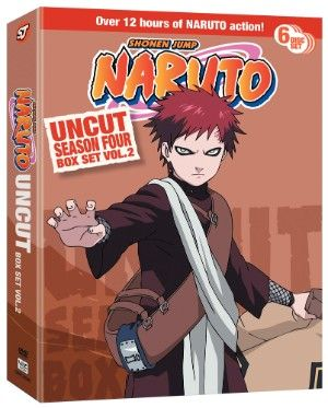 Naruto DVD Season 4 Box Set 2 Uncut