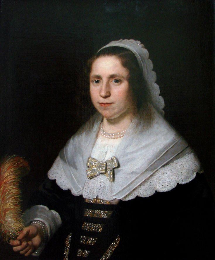 Bartholomeus van der Helst - Portret van een vrouw