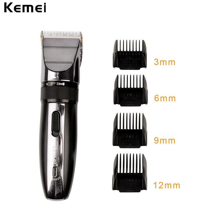 Professional Hair Trimmer Titanium ceramic blade Rechargeable Hair Clipper Men Razor Low Nose Cutting Machine to haircut hair