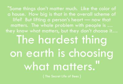 secret life of bees quote