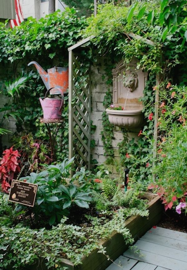 64 best Small patio garden images on Pinterest Landscaping
