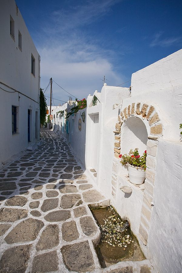 Streets of Naousa, Paros, Greece-Want to have a business from home so you can spend time traveling more freely? CLICK www.workwithbrandy.com and Learn how you can EARN MONEY while still having fun on Pinterest.