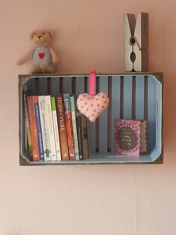 Kratje wordt boekenkastje