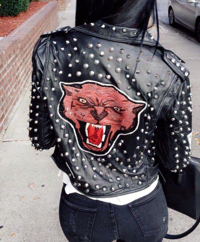 Diana Saldana Zara Leather Jacket