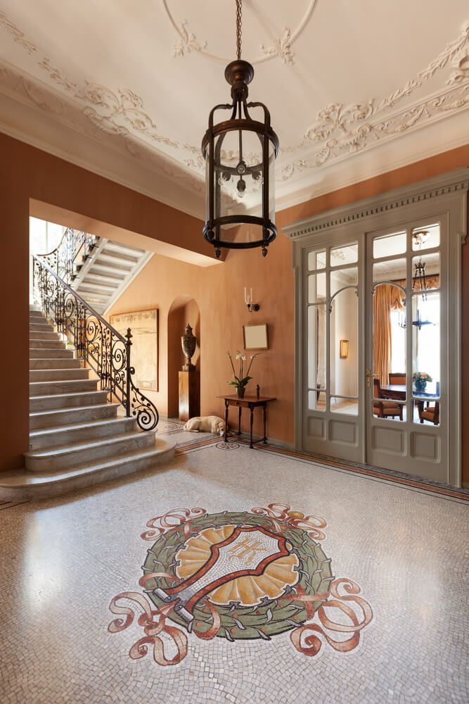 Country Home Foyers : Best images about foyers on pinterest modern foyer