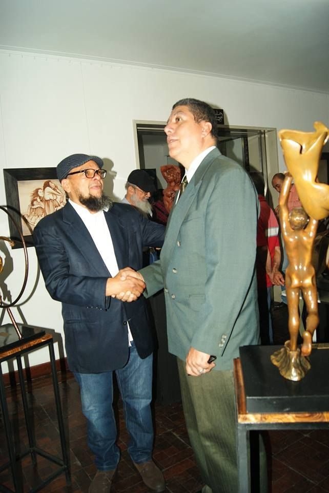 Pedro Pablo Murillo Cano escultor Colombiano