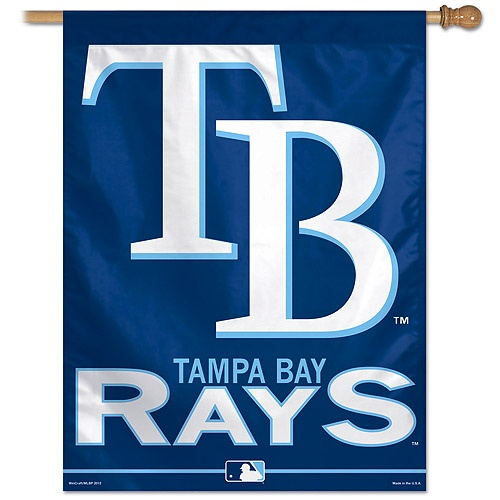 Tampa Bay Rays Vertical Flag.