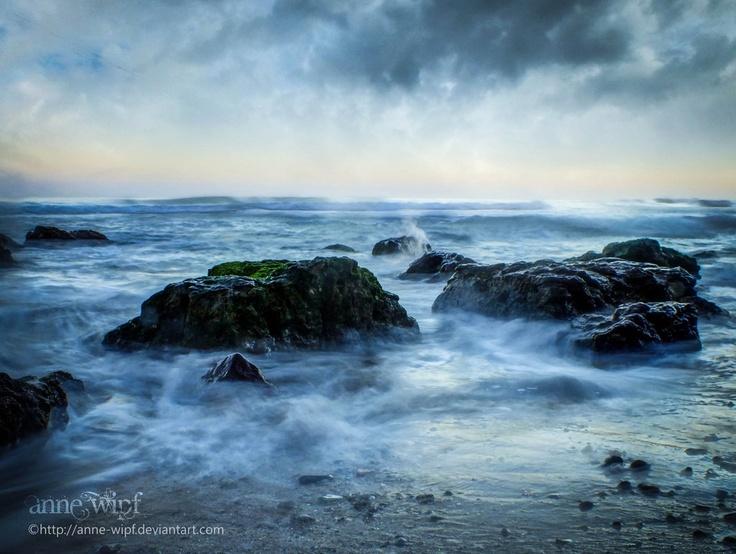 Cantabrica Sea at dawn