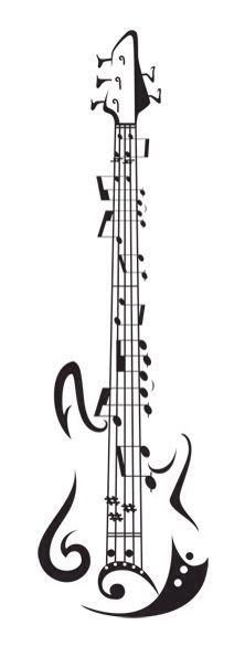 Guitar Chord tattoo