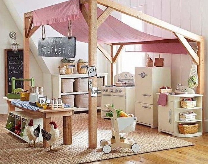 speelkamer - Gezellige speelhoek voor de kids