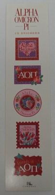 Alpha Omicron Pi Sorority Stickers $1.95