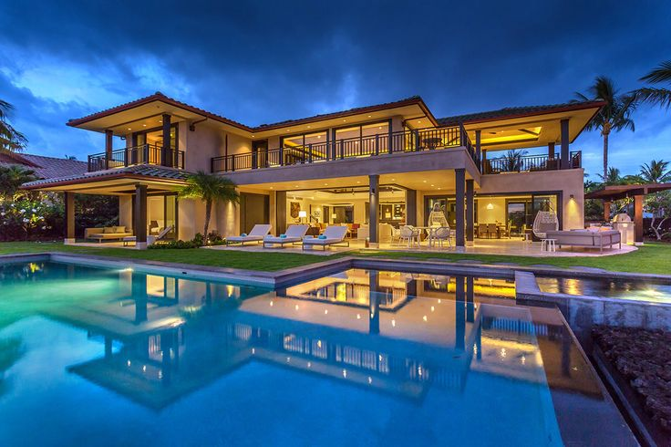 Check out this amazing luxury retreats property in big for Pool design honolulu