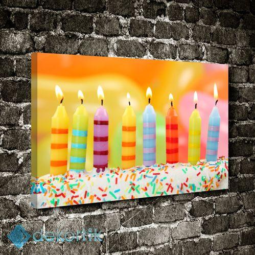 Renkli Mumlar Tablo #çocuk_odası_tabloları #genç_odası_tabloları