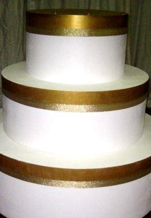 polystyrene cake