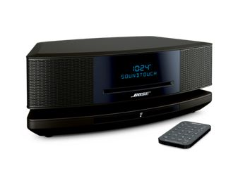 Indulge in the Wave® SoundTouch® music system from Bose®. The Wave® SoundTouch® system easily connects to your home Wi-Fi®, expands easily and comes with a handy remote.