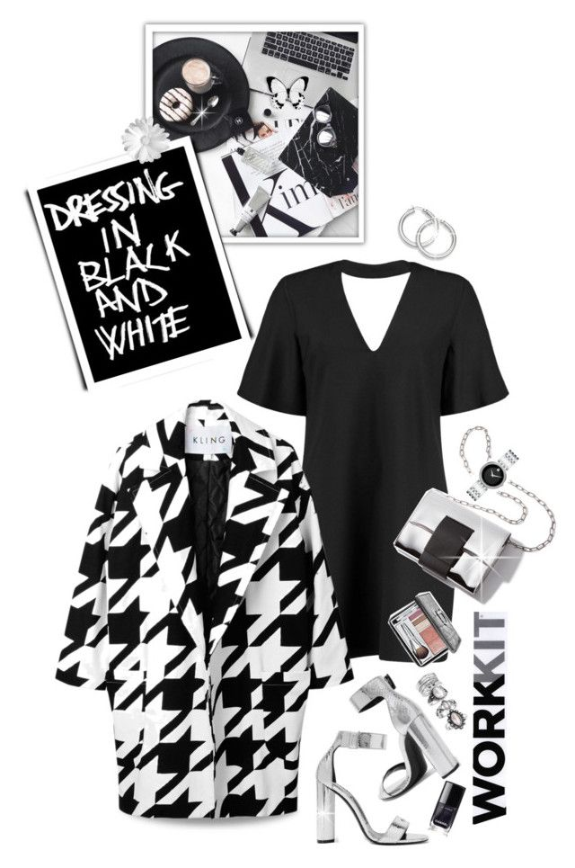 DRESSING IN BLACK AND WHITE by shortyluv718 on Polyvore featuring polyvore mode style Boohoo Tom Ford Movado Christian Dior Chanel White House Black Market fashion clothing