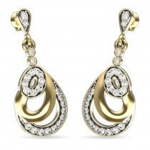 An elaborate earring to heighten the 'X' factor in your look.