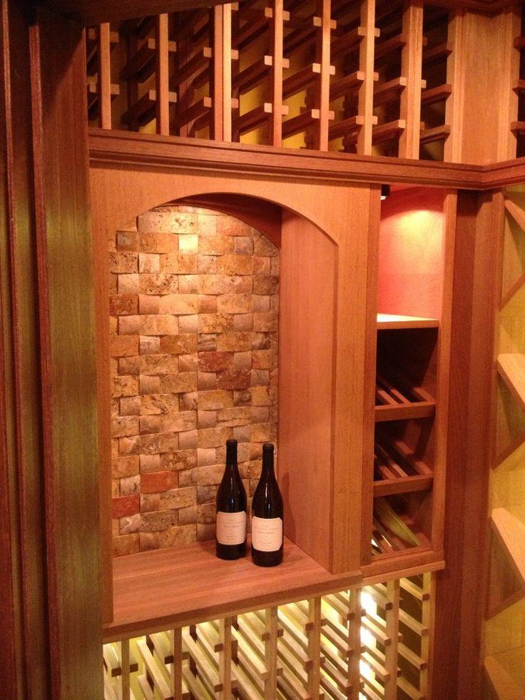 Home wine cellar in Ohio