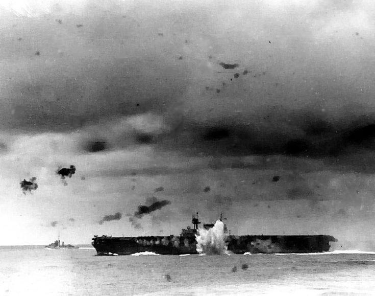 Battle of the Santa Cruz Islands - USS Enterprise - USS Enterprise (CV-6) - Wikipedia, the free encyclopedia