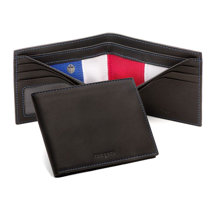 These wallets have interior dividers made from game-used NHL jerseys.
