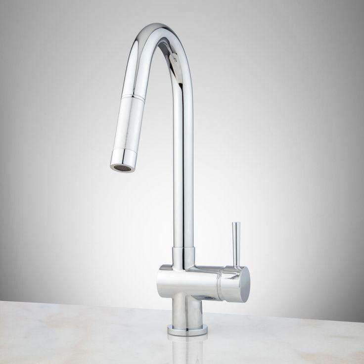 Bainbridge Single Hole Pull-Down Kitchen Faucet - Kitchen Faucets - Kitchen