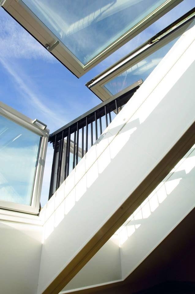 Roof Window Turns Into Balcony