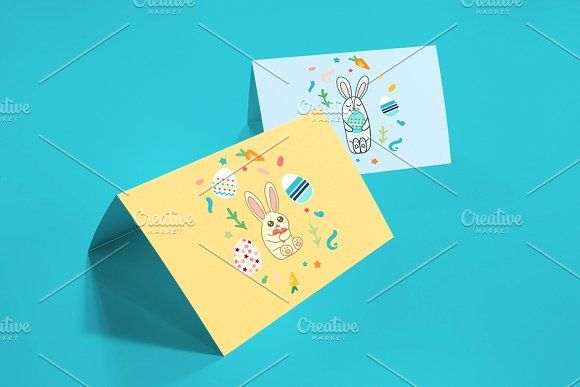Happy Easter Greetings by barsrsind on @creativemarket