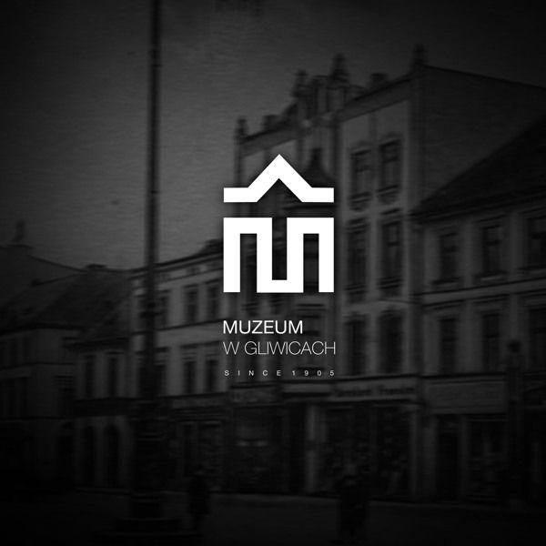 Muzeum w Gliwicach logo 1 by Zuzanna Serwatka, via Behance