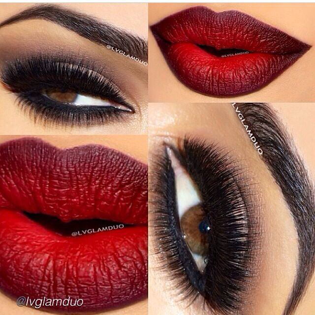 Red Ombre Lips Perfect Pout Pinterest Ombre Lips
