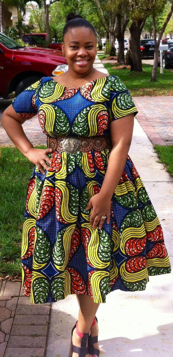 African design dress