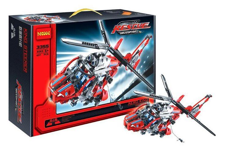 Mainan lego kw decool rescue Helicopter decool 3355 technic #legokw #legokwyangbagus #mainanlego #mainananak #decool #decooltechnic